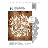 Momenta - Intricate Die - Merry Christmas Wreath