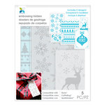 Momenta - Embossing Folders - Winter, Snowflake, Deer