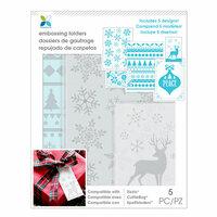 Momenta - Embossing Folders - Winter, Snowflake, Deer