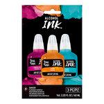 Brea Reese - Alcohol Ink - 3 Pack - Medium Magenta, Orange, Turquoise