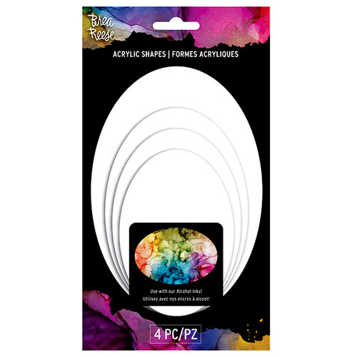 Brea Reese - Acrylic Shapes - White - Circle