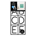 Art-C - Adhesive Stencils - Rounded Thin Font - 2 Inch