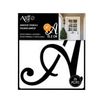 Art-C - Adhesive Stencils - Script Font - 6 Inch