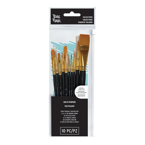 Brea Reese - 10 Piece - Value Pack Paintbrushes