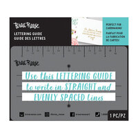 Brea Reese - 3 Lines - Lettering Guide
