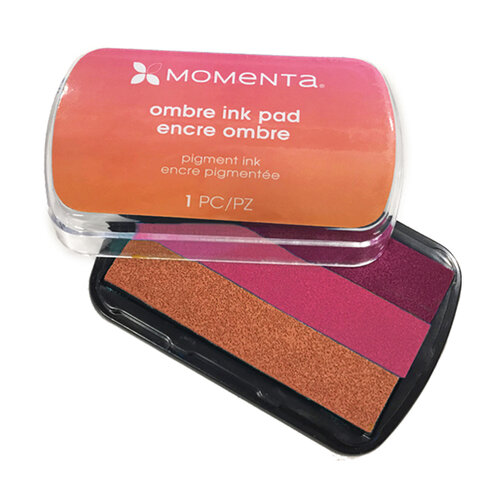 Momenta - Ombre Pigment Ink Pads - Pink to Orange