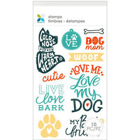 Momenta - Clear Acrylic Stamps - Dog Mom