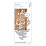 Momenta - Metal Dies - Intricate Rose with Leaves and Vines