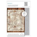 Momenta - Metal Dies - Tropical Leaf Pattern Mat
