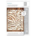 Momenta - Metal Dies - Zebra Print Mat