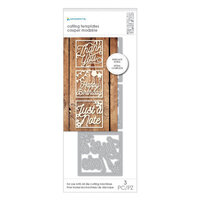 Momenta - Metal Dies - Intricate Small Card Front Sentiments