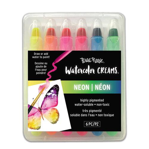Brea Reese - Watercolor Creams - Neon
