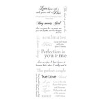 Momenta - Vellum Stickers with Foil Accents - Black Tie