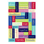 Momenta - Puffy Stickers - Words