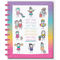 Me and My Big Ideas - Happy Planner Collection - Planner - Big - Stick Babe - Happy Notebook