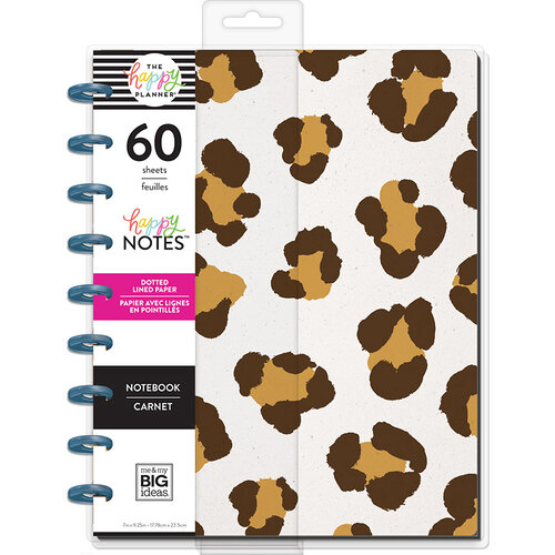 Me and My Big Ideas - Happy Planner Collection - Planner - Classic - Leopard Notebook