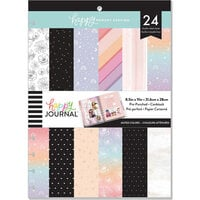 Me and My Big Ideas - Happy Memory Keeping Collection - Big - Pre-Punched Cardstock Photo Pages - Muted Colors