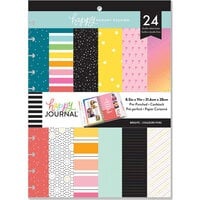 Me and My Big Ideas - Happy Memory Keeping Collection - Big - Pre-Punched Cardstock Photo Pages - Bright Colors