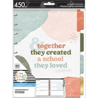 Me And My Big Ideas - Happy Planner Collection - Classic - Extension Pack - Homeschool