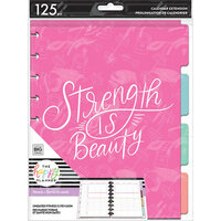 Me And My Big Ideas - Happy Planner Collection - Classic - Fill Paper - Strength Is Beauty