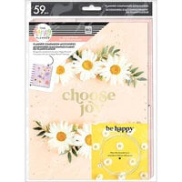 Me And My Big Ideas - Happy Planner Collection - Classic - Planner Companion - Pressed Florals