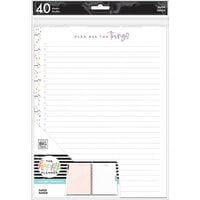 Me And My Big Ideas - Happy Planner Collection - Big - Fill Paper - Plan All The Things