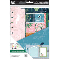 Me And My Big Ideas - Happy Planner Collection - Classic - Accessory Pack - Jungle Vibes