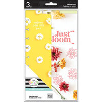 Me And My Big Ideas - Happy Planner Collection - Classic - Dashboard - Pressed Florals