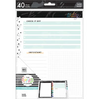 Me And My Big Ideas - Happy Planner Collection - Classic - Fill Paper - Today's Notes