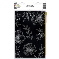 Me And My Big Ideas - Happy Planner Collection - Pen Pouch - Neutral Florals