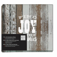 Me and My Big Ideas - 12 x 12 Postbound Album - American Sweetheart Find Joy