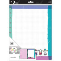 Me and My Big Ideas - Happy Planner Collection - Planner - Big - Fill Paper - Stick Babe - Friends