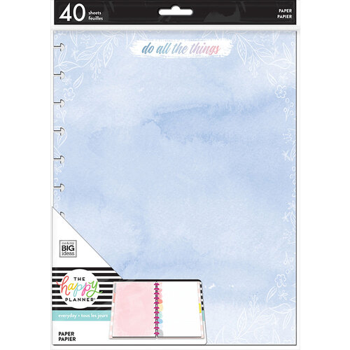 Me and My Big Ideas - Happy Planner Collection - Planner - Big - Fill Paper - All Things