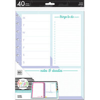 Me and My Big Ideas - Happy Planner Collection - Planner - Big - Fill Paper - Functional Color