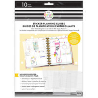 Me And My Big Ideas - Happy Planner Collection - Big - Sticker Planning Guide