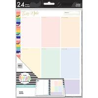Me and My Big Ideas - Happy Planner Collection - Planner - Classic - Fill Paper - Color Block