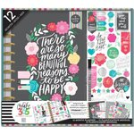 Me and My Big Ideas - Create 365 Collection - Planner - Box Kit - Big - Flower Pop - Undated