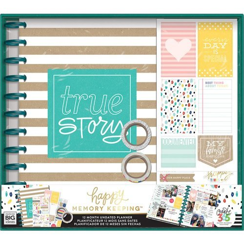 Me and My Big Ideas - Create 365 Collection - Planner - Box Kit - True Story - Undated