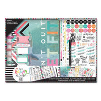 Me and My Big Ideas - Happy Planner Collection - Planner - Box Kit with Foil Accents- Fitness Get Fit - 12 Month - Undated