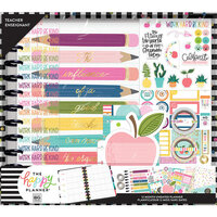 Me and My Big Ideas - Happy Planner Collection - Planner - Box Kit - Big - Teachers Influence 2 - Undated