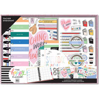 Me and My Big Ideas - Happy Planner Collection - Planner - Box Kit - Classic - Work of Heart Teacher - Undated