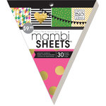 Me and My Big Ideas - MAMBI Sheets - Banner Paper Pad with Foil Accents - Big City Brights