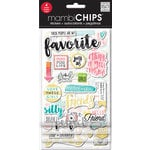 Me and My Big Ideas - MAMBI Sticks - Chipboard Stickers - Favorite