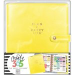 Me and My Big Ideas - Create 365 Collection - Planner - Deluxe Cover - Classic - Sunshine Yellow