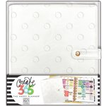 Me and My Big Ideas - Create 365 Collection - Planner - Deluxe Cover - Classic - Snow Dots