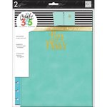 Me and My Big Ideas - Create 365 Collection - Planner - Snap in Hard Cover - Big - Turquoise