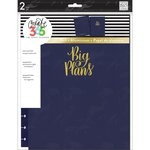 Me and My Big Ideas - Create 365 Collection - Planner - Snap in Hard Cover - Big - Navy