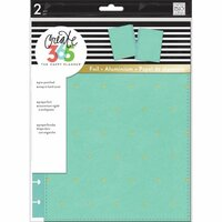 Me and My Big Ideas - Create 365 Collection - Planner - Snap in Hard Cover - Classic - Sky Blue Dot