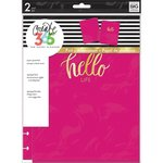 Me and My Big Ideas - Create 365 Collection - Planner - Snap in Hard Cover - Classic - Pink Heart