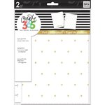 Me and My Big Ideas - Create 365 Collection - Planner - Snap in Hard Cover - Classic - White